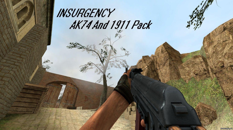 Замена AK47 для CSS на АК74