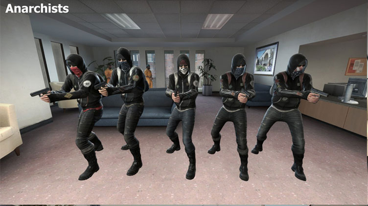 Anarchists CS:GO